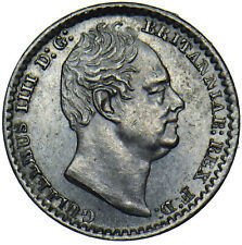 More details for 1831 maundy penny - william iv british silver coin - very nice
