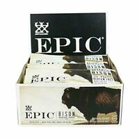 Epic All Natural Meat Bar Bison Uncured Bacon and Cranberry 12CT     EXP 3/20