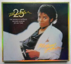 MICHAEL JACKSON 25 TH ANNIVERSARY THRILLER CD + DVD  NUOVO SIGILLATO