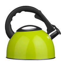 Whistling Kettle In Lime Green Colour Modern Features Attractive Brand New