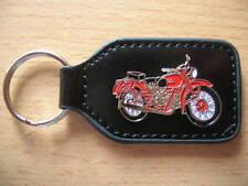 Schlüsselanhänger Moto Guzzi Falcone rot red Oldtimer Art 0228 Motorrad Moto