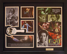 Bob Marley Limited Edition Signature Framed Memorabilia (b)