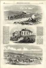 1855 Ambulance Waiting For Wounded Sebastopol Newly Invented Drying Closet