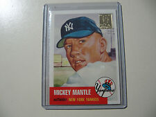 1996 Topps Mickey Mantle reprint of 1953 Topps