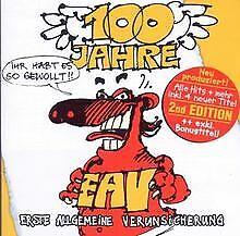 100 Jahre EAV / 2nd EDITION von Erste Allgemeine Verunsich... | CD | Zustand gut