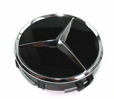 Mercedes-benz tapa del cubo raddeckel embellecedores negro b66470200