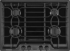 "Frigidaire 30"" 30 inch Black Gas Cooktop with 4 Sealed Burners FFGC3010QB"