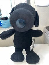 """NWT Uniqlo XX Kaw s Large Snoopy Black Plush 22"""" Stuffed Animal Toy Collectable"""