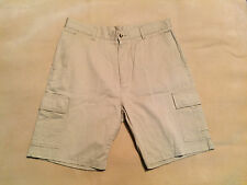 "Mens Burton Cargo Shorts Size 34"" Waist, 9"" Inseam Good Condition Plenty Life In"