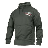 Thin Red Line Concealed Carry Grey Sweatshirt Hoodie Rothco 2331