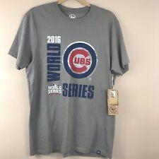 Chicago Cubs Men's 2016 World Series '47 Brand' Tee Shirt Size Medium