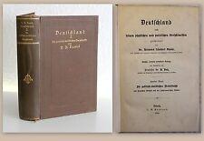 Daniel Deutschland nach physischen und politischen Verhältnissen 1895 Geschichte