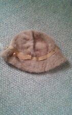 015 VTG Kangol Design Made In England Hat Brown Bucket Fur
