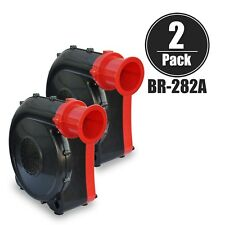 XPOWER BR-282A 2 HP Indoor Outdoor Inflatable Jumper Bounce House Blower 2 Pack