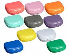 Teeth Dental Orthodontic Retainer Case Box Denture Sport Mouth Guard Storage