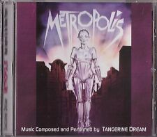 METROPOLIS  Tangerine Dream  MUSIC INSPIRED BY THE MOTION PICTURE