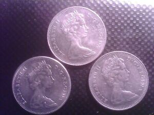 CANADA 5 CENTS   1967  1968   1969        SEPT17