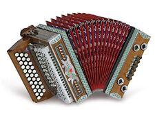 Steirische Harmonika Strasser Classic 3 reihig , X-Bass