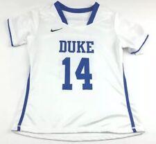 Nike Women's Duke Blue Devils DRI-FIT LAX Lacrosse Jersey Sz.M NEW 630577-100.