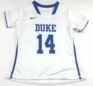 Nike Women's Duke Blue Devils DRI-FIT LAX Lacrosse Jersey Sz.M NEW 630577-100