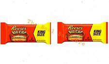 (2) Reese's, Big Cup King Size Peanut Butter Cups, 2.8 Oz