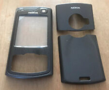 GENUINE ORIGINAL NOKIA HOUSING , FRONT &  BOTH BACK COVERS - NOKIA N80 - BLACK