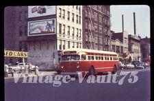 Duplicate Slide Bus Mack 2966 Sts Surface Transit New York City 1950'S M104