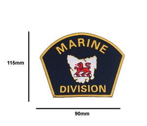 Tasmania Police Marine Division Patch (social)