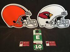 Arizona Cardinals v Cleveland Browns 12/15 Green E East Lot Parking Pass Tickets
