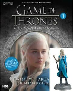 Game Of Thrones GOT Official Collectors Models #1 Daenerys Targaryen Figurin NEW