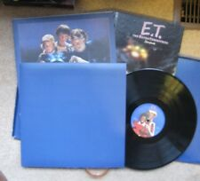 E.T. The Extra Terrestrial,  (LP Box Set  - no poster) Michael Jackson