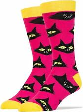 OOOH YEAH! Men's Novelty Crew Socks, MD5005C - The Cats Meow