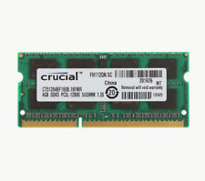 Crucial PC3-12800 8Gb DIMM 1600 MHz PC3-12800 DDR3 SDRAM Memory BLS8G3D1609DS100