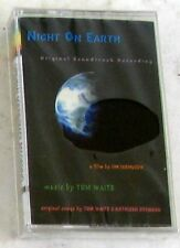 TOM WAITS - NIGHT ON EARTH SOUNDTRACK - Musicassetta Cassette Tape MC K7 Sealed