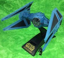 Star Wars Imperial TIE INTERCEPTOR & Pilot Micro Machines Action Fleet Galoob