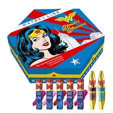 Maybelline New York Wonder Woman box DC Comics 2 Mascara & 5 lipstick BNIB LE