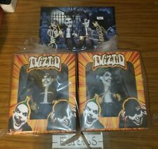 Twiztid Limited Edition Knuckleheads Action Figures + Autographed flat - NEW
