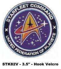 STAR TREK STARFLEET COMMAND VEL-KRO PATCH - STK82V