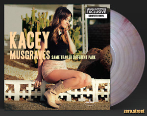 KACEY MUSGRAVES Same Trailer Different Park LP on COLOR VINYL Exclusive confetti