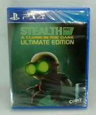 Stealth Inc: A Clone in the Dark for Sony PlayStation 4 PS4 NEW SEALED