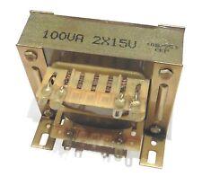 Transformateur 100VA 2x18V                                            TF100VA18D