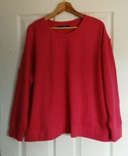 Dunnes Ladies Jumper Pink Size XL Very Good Condition