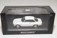 . MINICHAMPS ALFA ROMEO GIULIA SPRINT GTA 1965 WHITE MINT BOXED