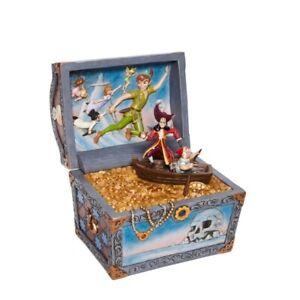 Jim Shore Disney Traditions - Peter Pan and Captain Hook Treasure Chest 6008063