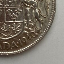 CANADA 1940 50 CENTS KING GEORGE VI  .800 SILVER  C9