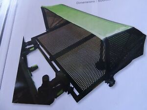 New Maver MV-R side tray with awning