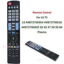 Replacement Remote Control for LG AKB73756504 32 42 47 50 55 LED Plasma TV
