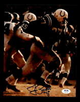 Jim Parker HOF 73 PSA DNA Coa Hand Signed 8x10 Autograph Photo