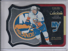 15/16 OPC Platinum New York Islanders John Tavares Team Logos card #T-19