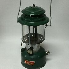 N-75 Vintage 1965 Coleman Lantern Model 220F Double Mantle Pyrex